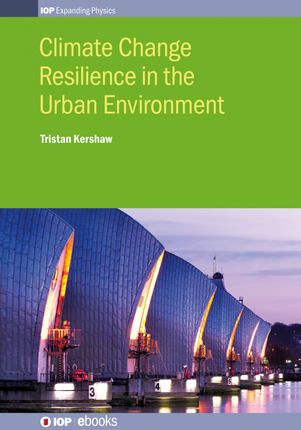 Jacket Image For: Climate Change Resilience in the Urban Environment