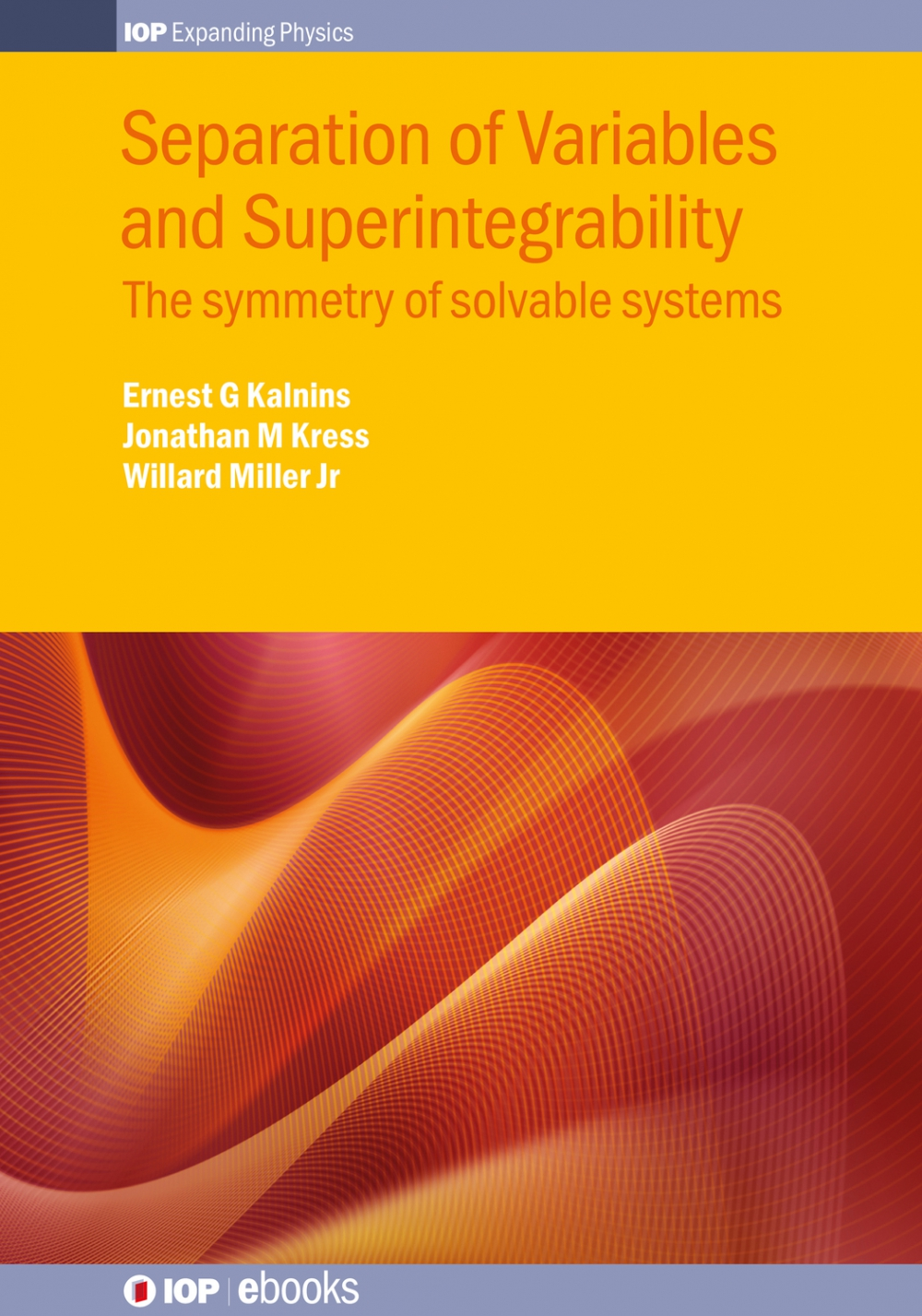Jacket Image For: Separation of Variables and Superintegrability