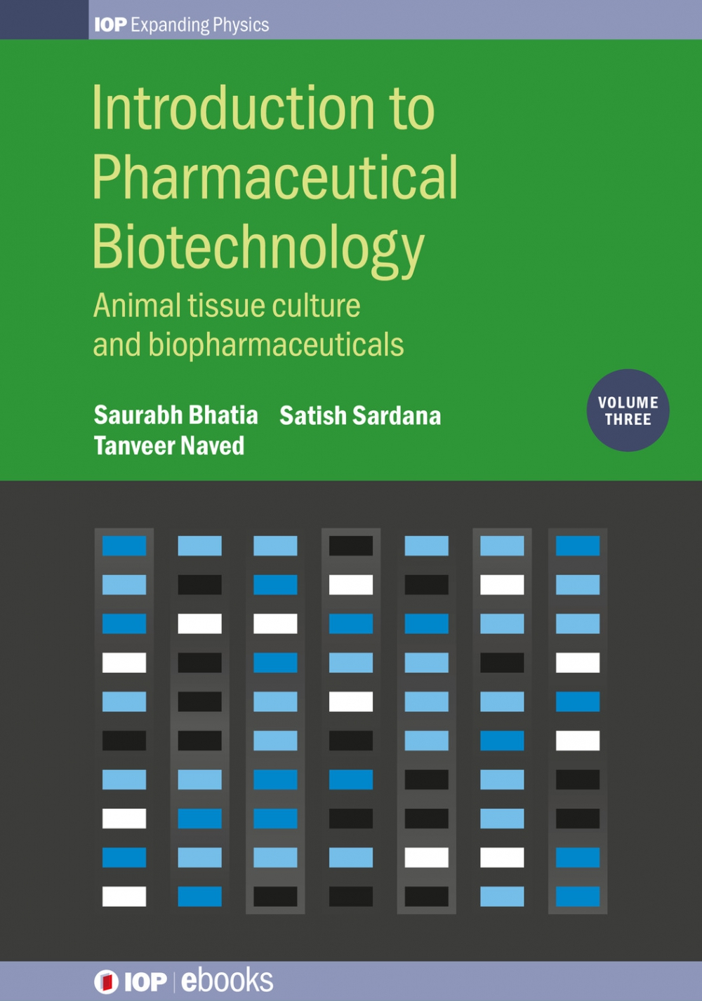 Jacket Image For: Introduction to Pharmaceutical Biotechnology, Volume 3
