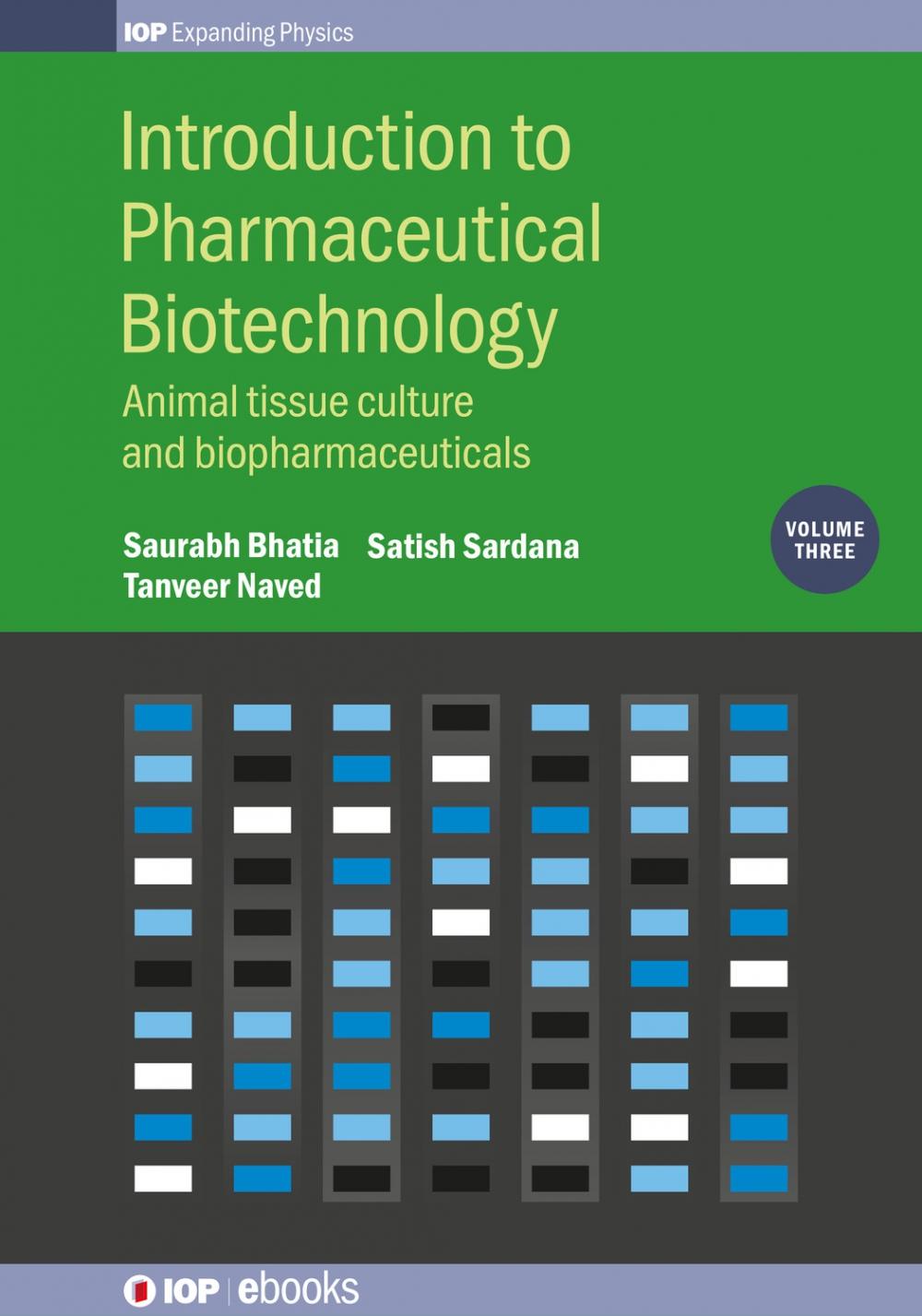 Jacket Image For: Introduction to Pharmaceutical Biotechnology, Volume 3