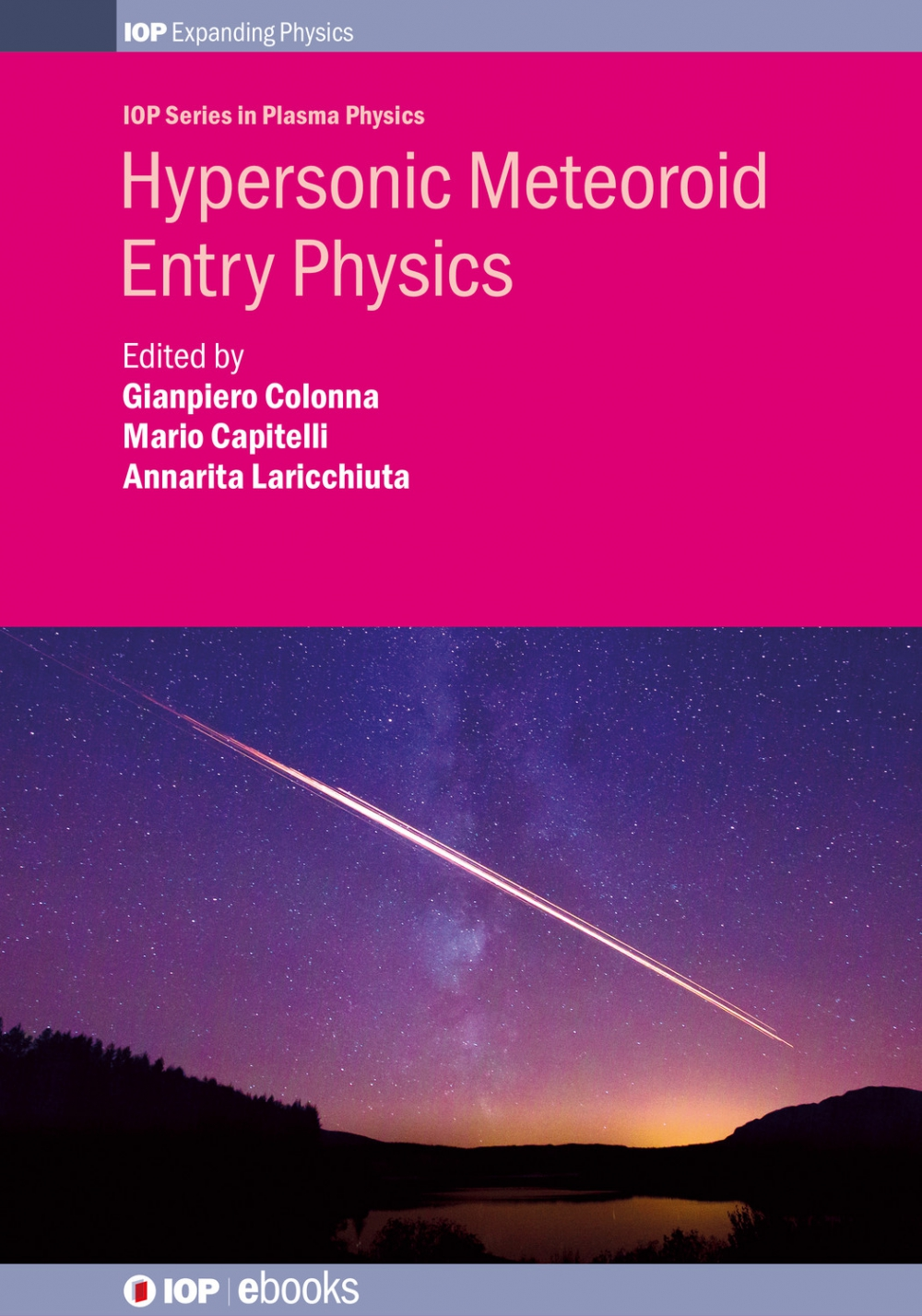 Jacket Image For: Hypersonic Meteoroid Entry Physics