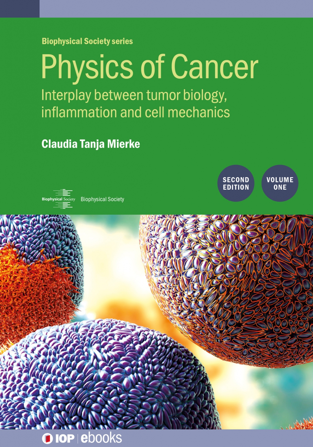 Jacket Image For: Physics of Cancer: Second edition, volume 1