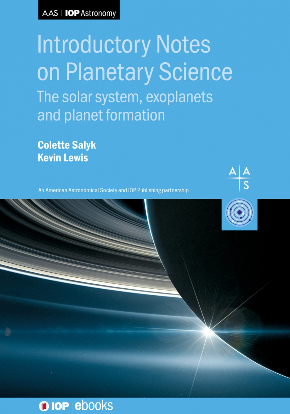 Jacket Image For: Introductory Notes on Planetary Science