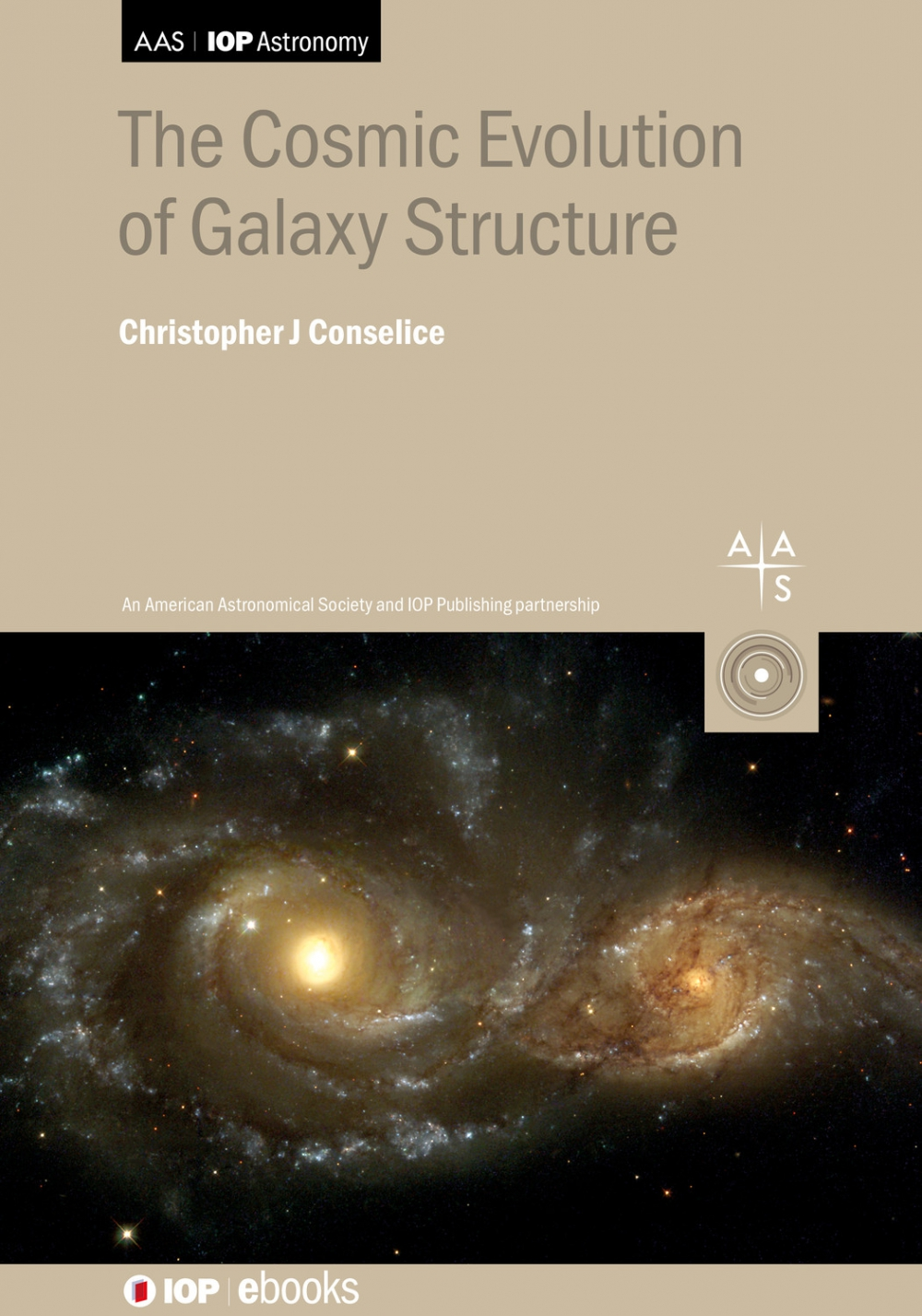 Jacket Image For: The Cosmic Evolution of Galaxy Structure