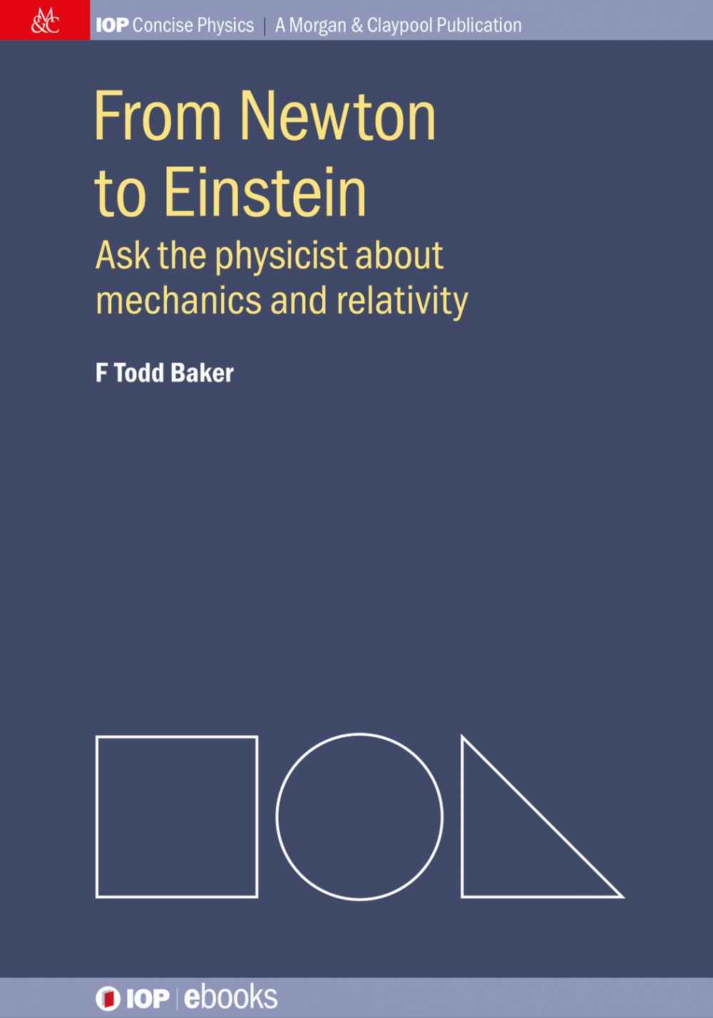Jacket Image For: From Newton to Einstein
