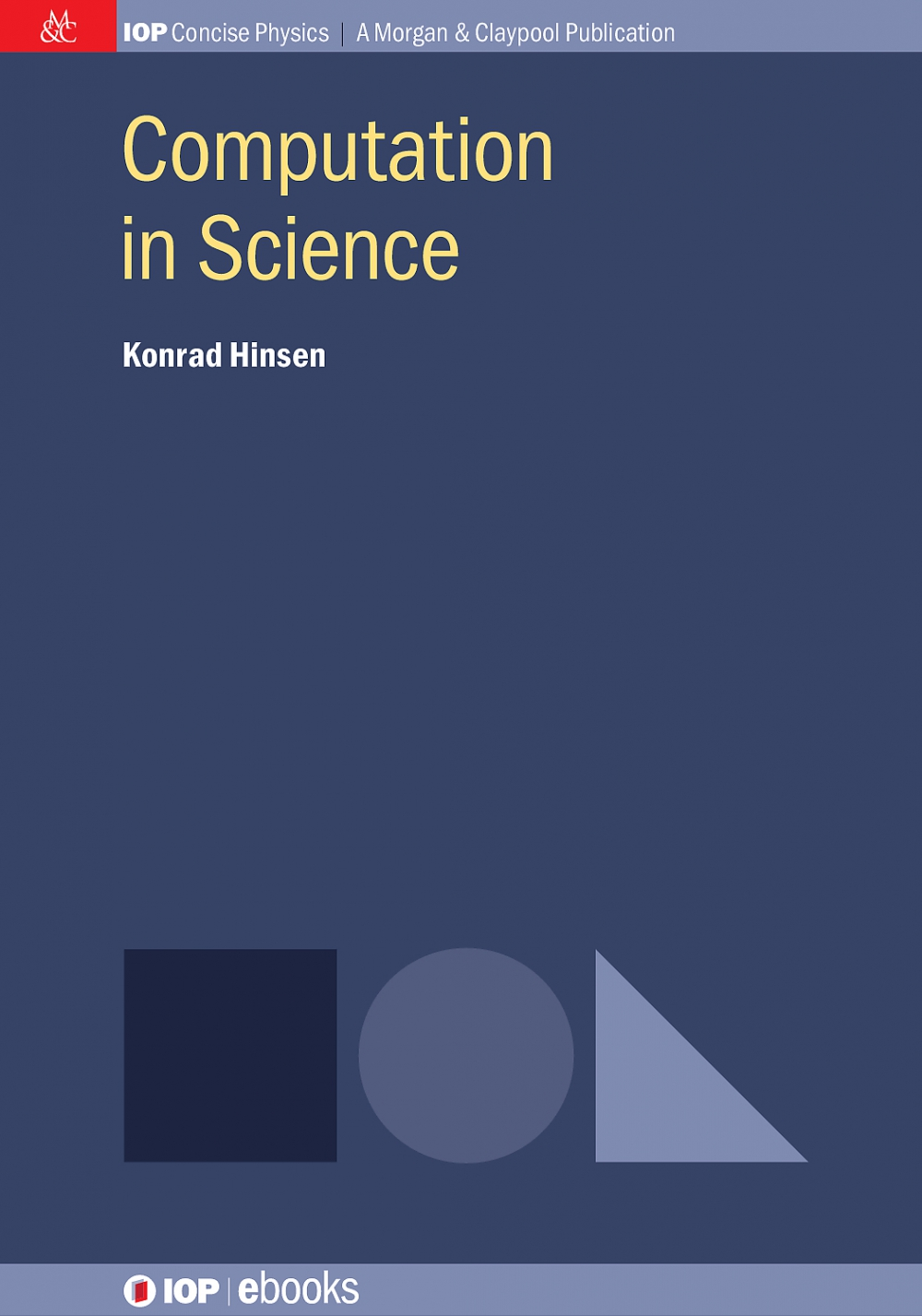 Jacket Image For: Computation in Science