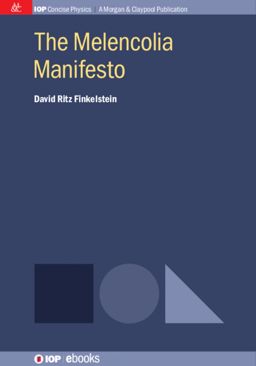 Jacket Image For: The Melencolia Manifesto