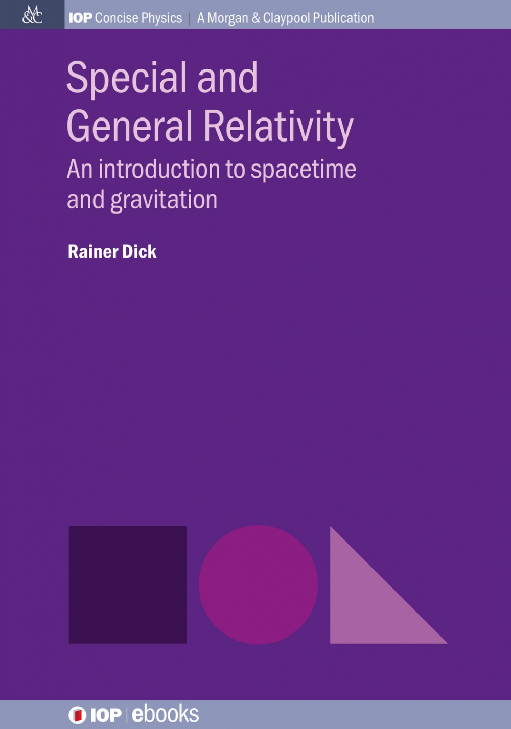 Jacket Image For: Special and General Relativity