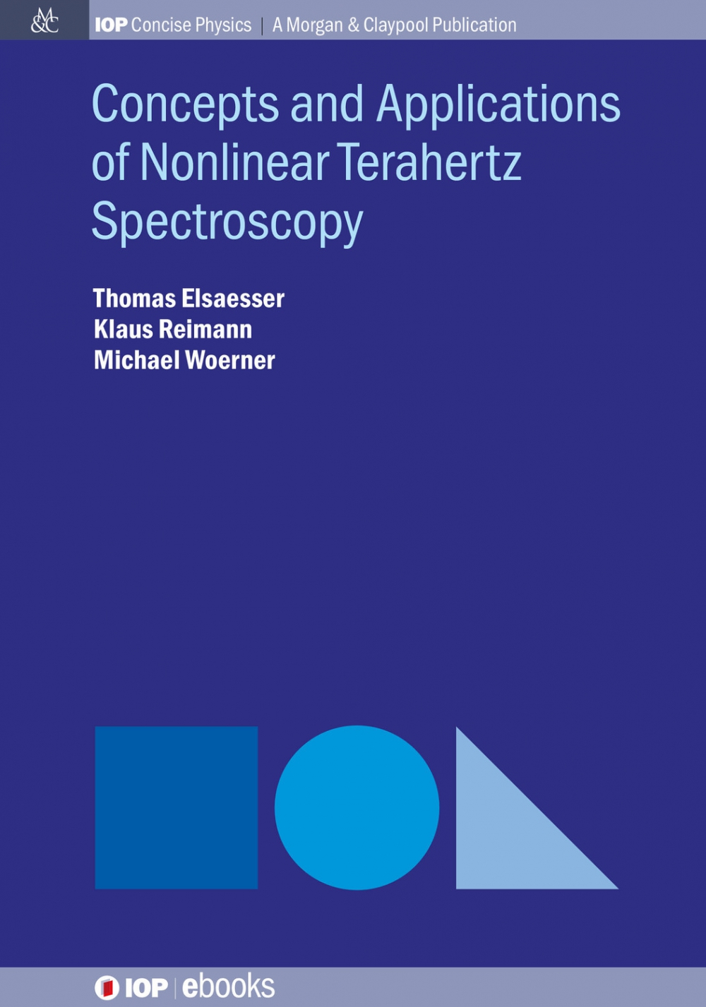 Jacket Image For: Concepts and Applications of Nonlinear Terahertz Spectroscopy