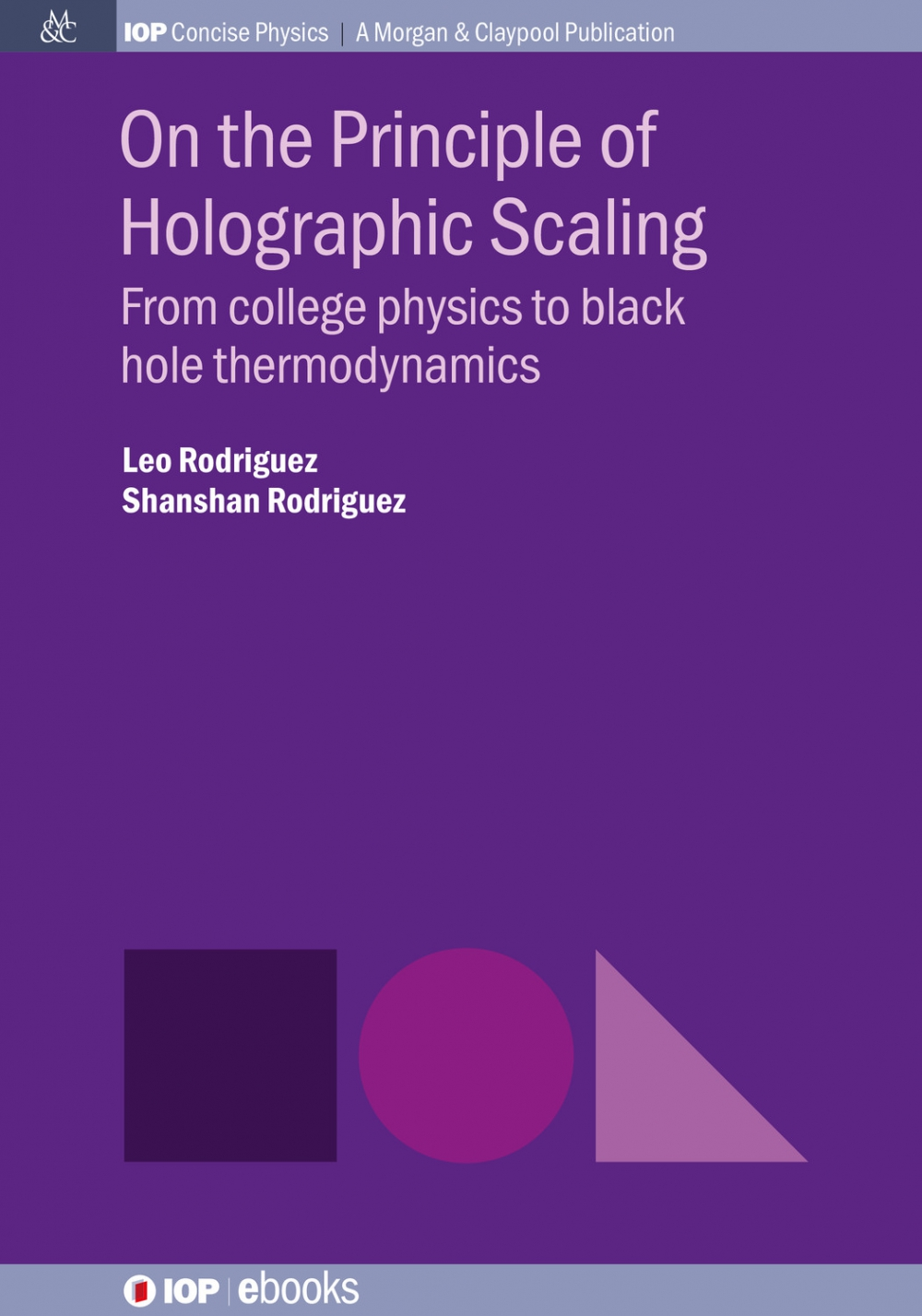Jacket Image For: On the Principle of Holographic Scaling