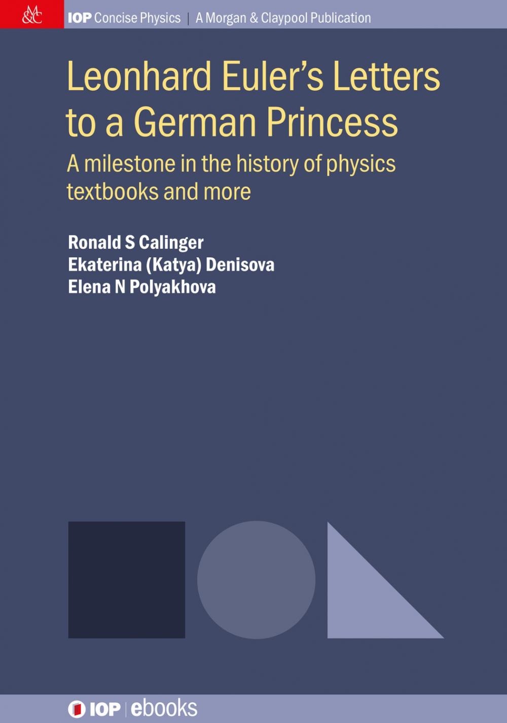 Jacket Image For: Leonhard Euler's Letters to a German Princess