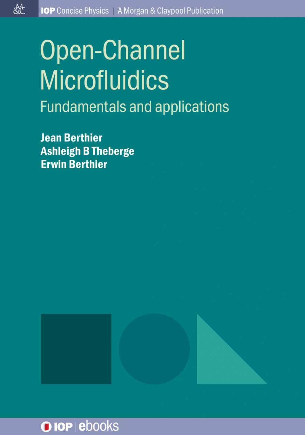 Jacket Image For: Open-Channel Microfluidics