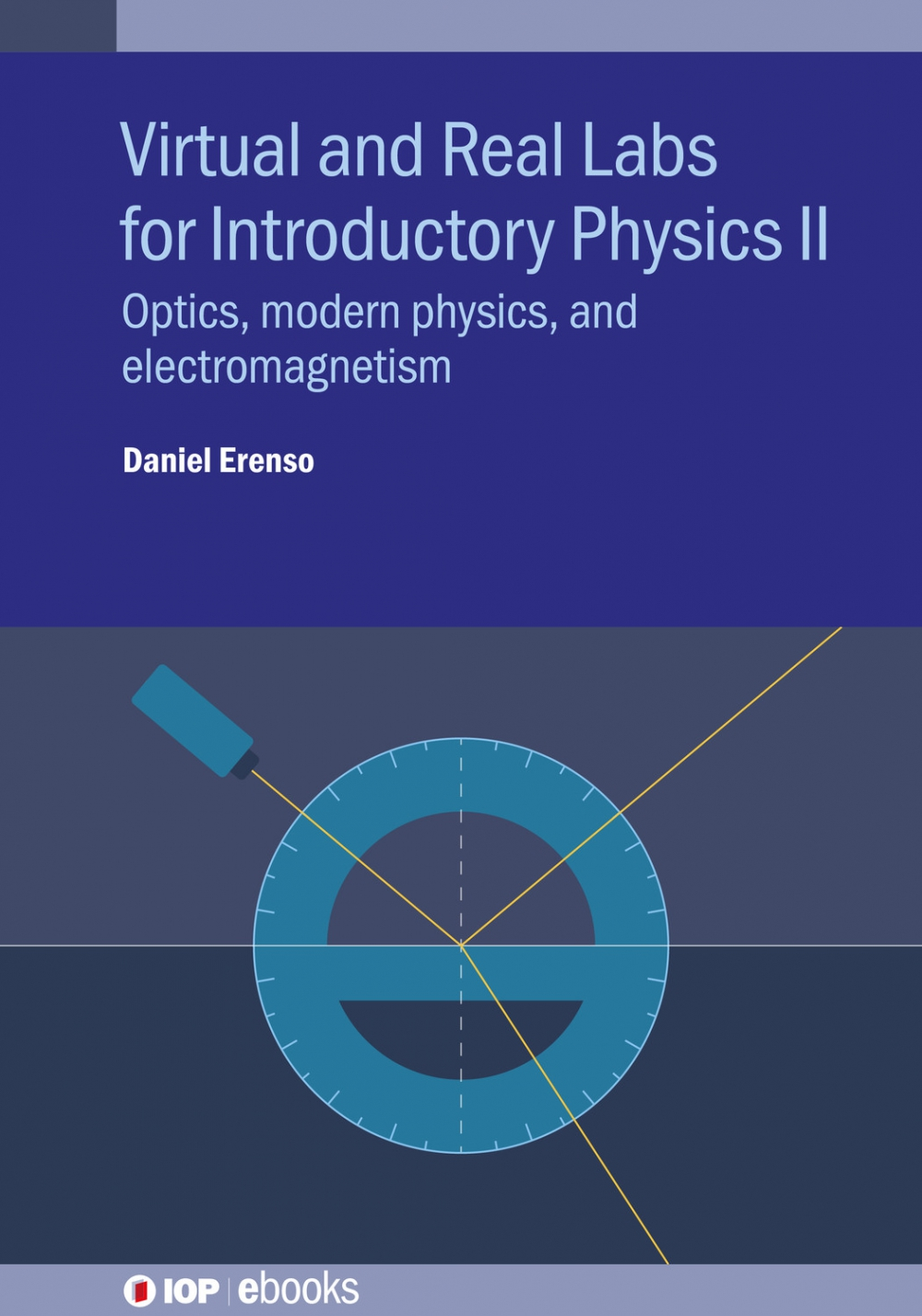Jacket image for Virtual and Real Labs for Introductory Physics II