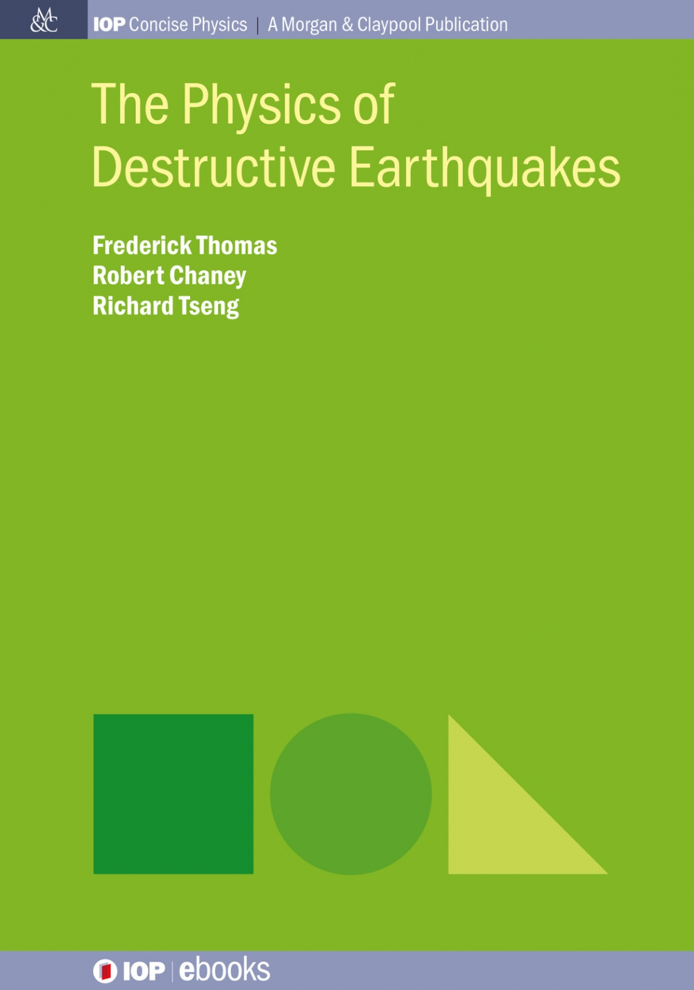 Jacket Image For: The Physics of Destructive Earthquakes