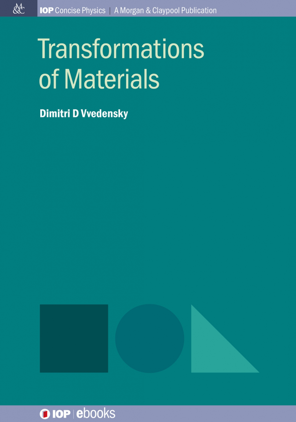 Jacket Image For: Transformations of Materials