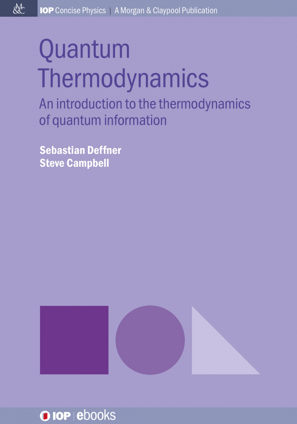 Jacket Image For: Quantum Thermodynamics