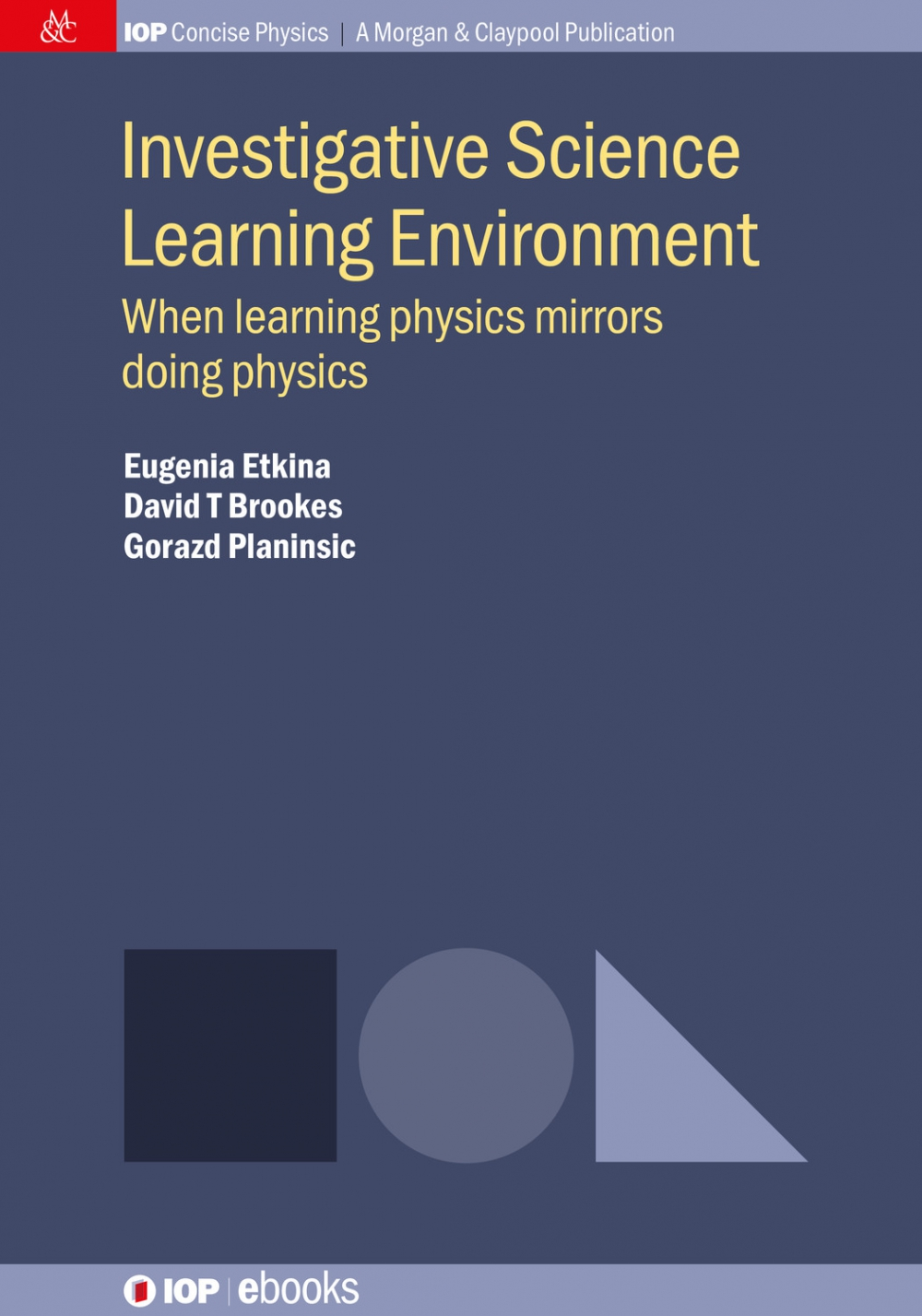 Jacket Image For: Investigative Science Learning Environment