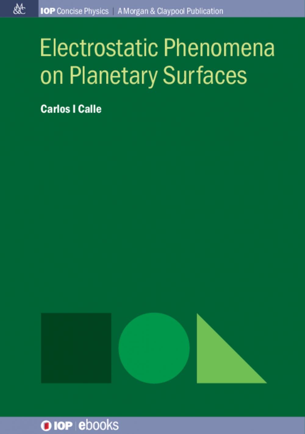 Jacket Image For: Electrostatic Phenomena on Planetary Surfaces