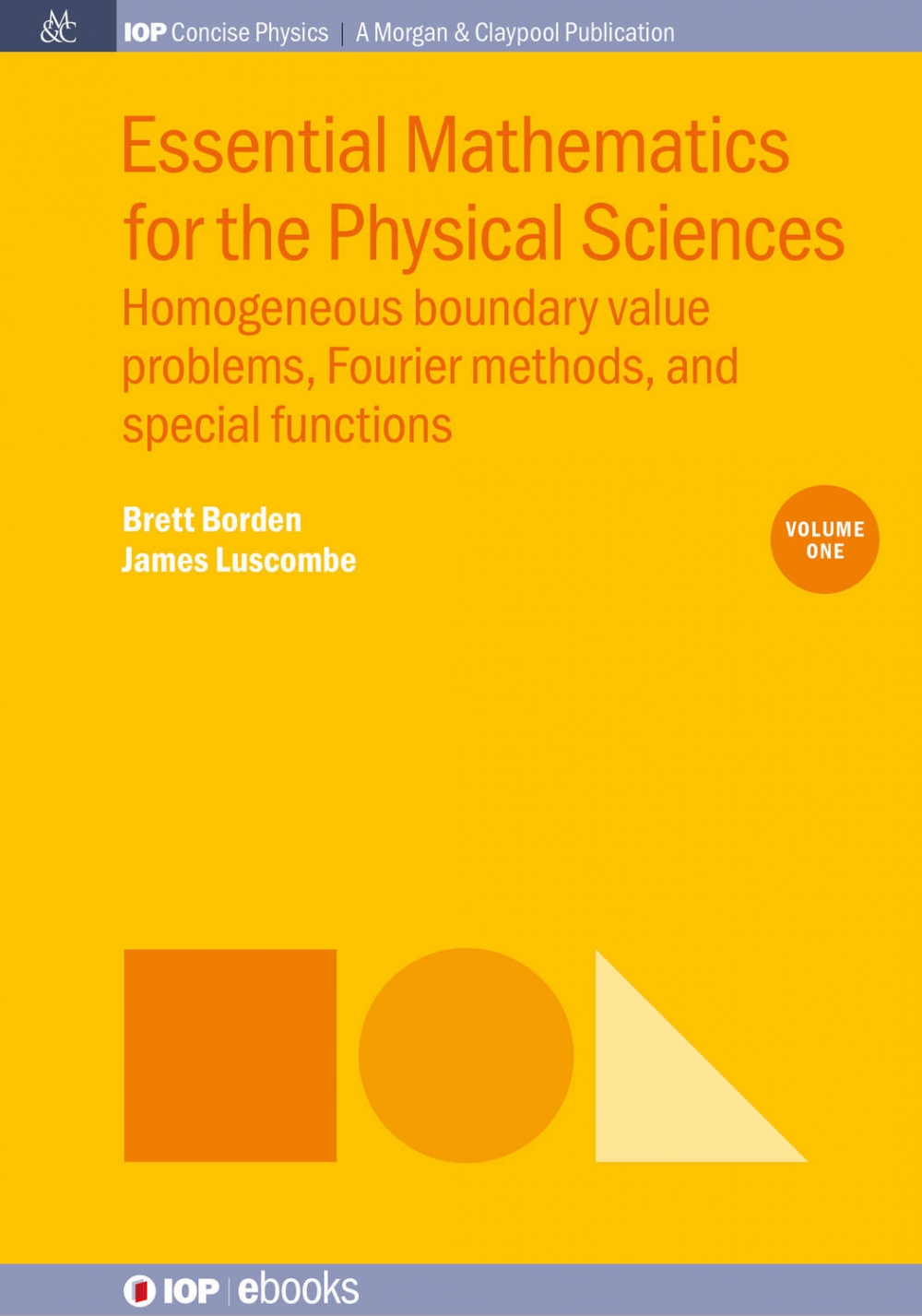Jacket Image For: Essential Mathematics for the Physical Sciences
