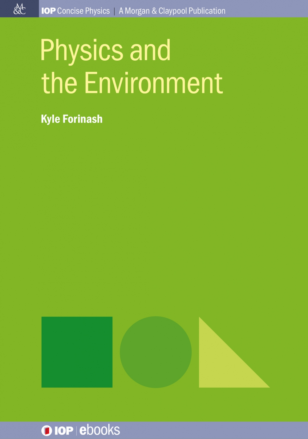 Jacket Image For: Physics and the Environment