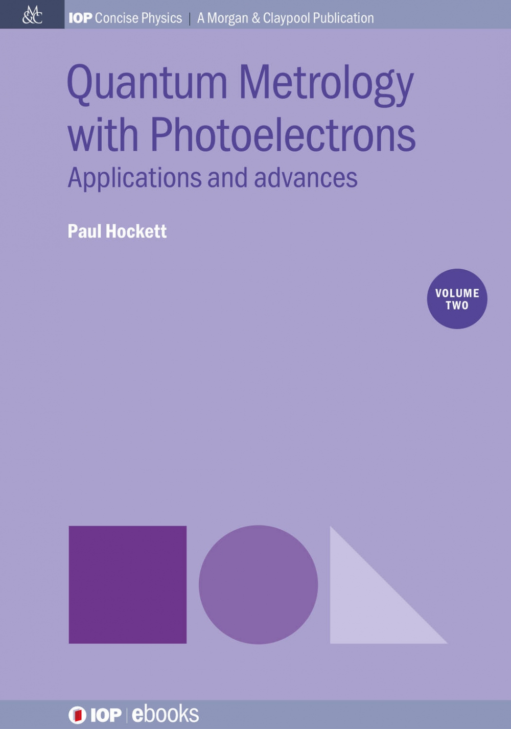 Jacket Image For: Quantum Metrology with Photoelectrons: Vol 2
