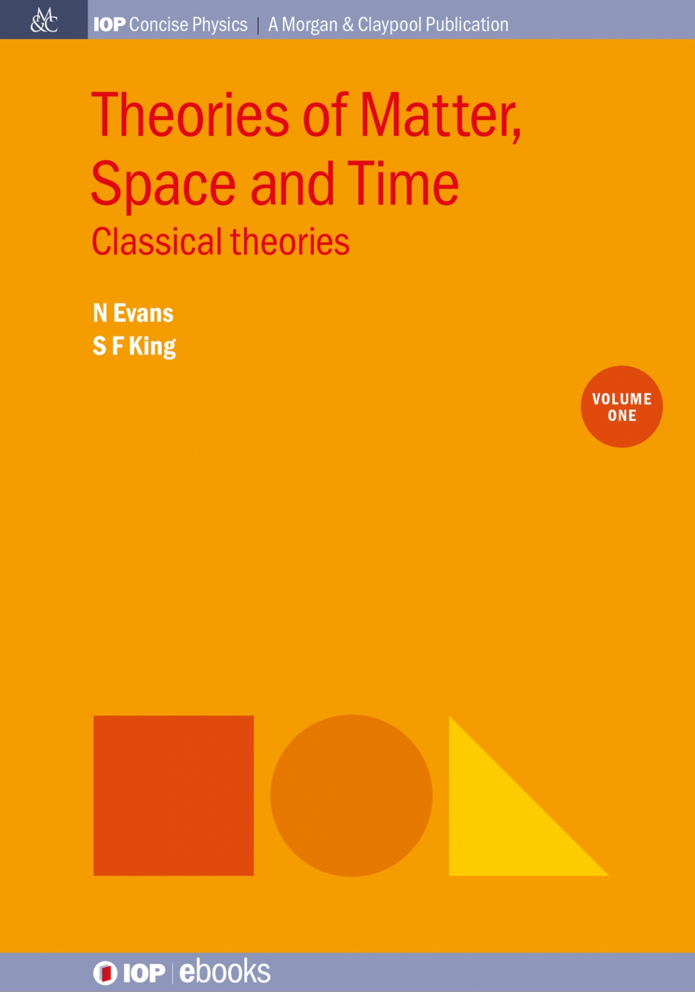 Jacket Image For: Theories of Matter, Space and Time, Volume 1